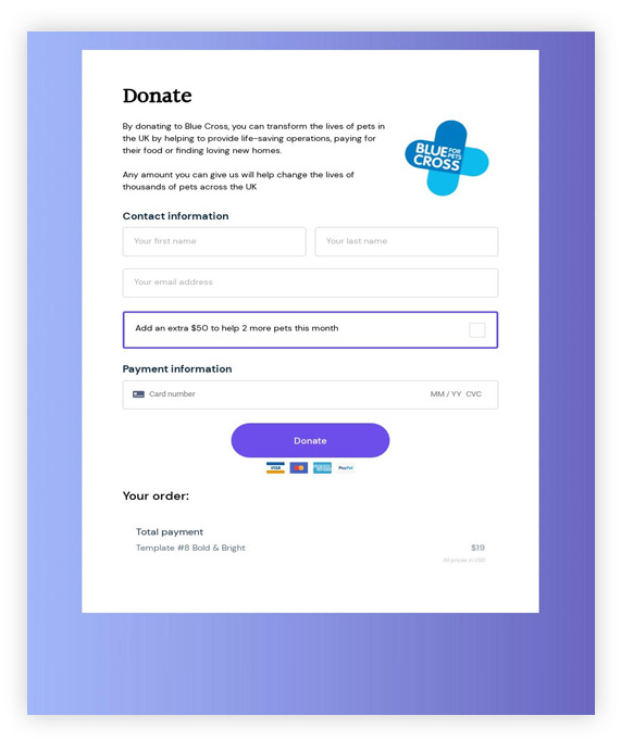 thrivecart-template-donations